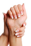Beautifull woman hand. Royalty Free Stock Image