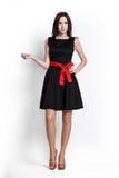 Beautifull Woman In Black Dress