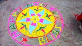 Beautifullyâ€-‹Rangoli Lizenzfreies Stockbild