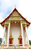 Beautifully buddhism temple in thailand. Beautifully buddhism temple Wat Banchang ,Rayong ,Thailand royalty free stock image