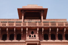 Beautifully carved upper level in Jhangir Palace Royalty Free Stock Photography
