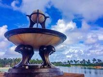 Atlantian sculpture stock photos