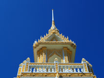 Beautifully crafted crematorium pavilion Royalty Free Stock Photo