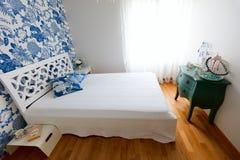 Beautifully decorated bedroom Royalty Free Stock Photo