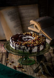 Beautifully decorated cake Royalty Free Stock Photo