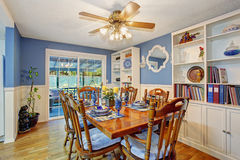 Beautifully decorated dinning room. Stock Photography