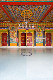 Rumtek Monastery Entrance Doors Ceiling V Stock Photos