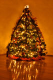 Beautifully Decorated Home Christmas Tree Royalty Free Stock Images