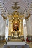 Main Altar in Assumption Cathedral, Kalocsa, Hungary Royalty Free Stock Photography