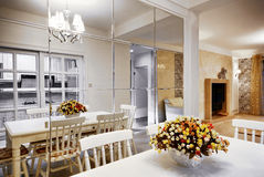 Beautifully decorated modern rooms Royalty Free Stock Photo