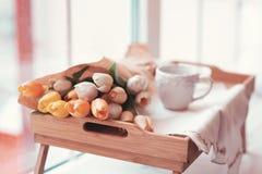Beautifully decorated tray Stock Image