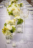 Beautifully Decorated Wedding Venue Stock Photography