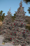 beautifully dekorerade julen treen Royaltyfri Fotografi