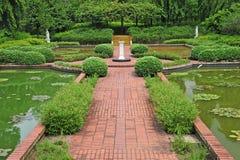 beautifully designträdgård arkivfoton