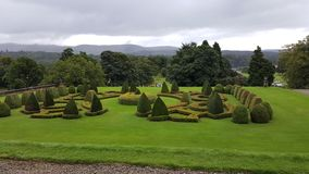 Scottish estate gardens Royalty Free Stock Photography