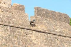 Beautifully maintained fort diu gujarat india Stock Image