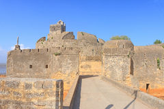 Beautifully maintained fort diu gujarat india Stock Images