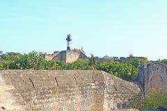 Beautifully maintained fort diu gujarat india Stock Photo