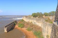 Beautifully maintained fort diu gujarat india Royalty Free Stock Photos