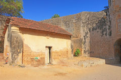 Beautifully maintained fort diu gujarat india Stock Photos