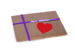 Beautifully packaged envelope royalty free stock images