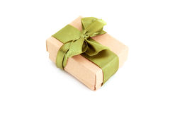 Beautifully packaged gift box Royalty Free Stock Photography