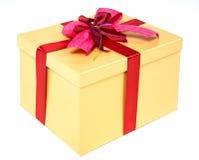 Beautifully packed gift box Stock Image