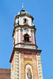 Beautifully painted church steeple, Bavaria Stock Photos