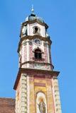 Beautifully painted church steeple, Bavaria Stock Photos