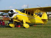 Beautifully restored antique Howard DGA transport airplane. Stock Photos