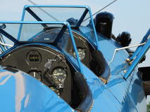 Beautifully restored antique PT17 Boeing Stearman. Stock Images