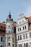 Beautifully restored building in Dresden Stock Images