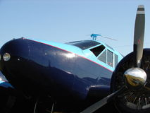 Beautifully restored classic Beech 18. Royalty Free Stock Photos