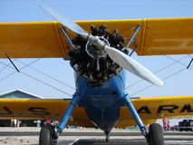 Beautifully restored  classic Boeing PT-17 Stearman. Royalty Free Stock Photography
