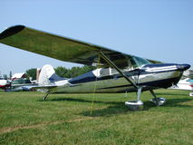 Beautifully Restored classic Cessna 170 B model. Royalty Free Stock Images