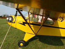 Beautifully restored classic Piper J3 Cub. Royalty Free Stock Image