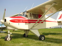 Beautifully restored  classic Piper Pa-22-108 Colt. The photo of this Beautifully restored  classic Beautifully restored  classic Piper Pa-22-108 Colt was taken Stock Image