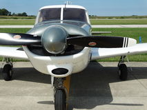 Beautifully restored classic  Piper Pa24 Comanche 260. Royalty Free Stock Photography