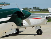 Beautifully restored classic Piper Super Cruiser. Royalty Free Stock Images