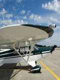 Beautifully restored classic Piper Super Cruiser. Stock Image
