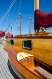 Beautifully restored classic sail boat Royalty Free Stock Photo