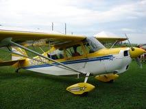 Beautifully restored 1979 8KCAB Super Decathlon stunt plane. Stock Photo