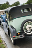 Beautifully restored oldtimers Royalty Free Stock Photos