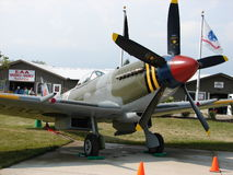 Beautifully restored Supermarine Spitfire MK18 fighter. Royalty Free Stock Photography
