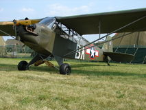 Beautifully restored WWII Piper L-4 Grasshopper. Stock Images