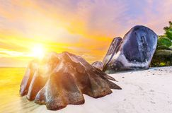 Anse Source d`Argent royalty free stock images