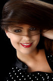 Beautifully woman face Stock Image