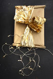 Beautifully wrapped gift Stock Photos