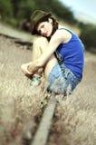 Beautifully young women Stock Photos