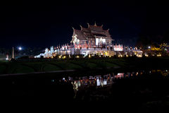 BeautifulNight at golden hall Stock Images